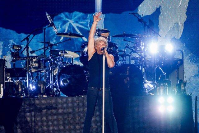 Concierto de Bon Jovi en el estadio Wanda Metropolitano de Madrid