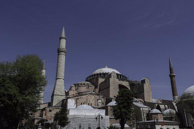 AMP.- Turquía.- Erdogan aprueba la reconversión de Santa Sofía en una mezquita