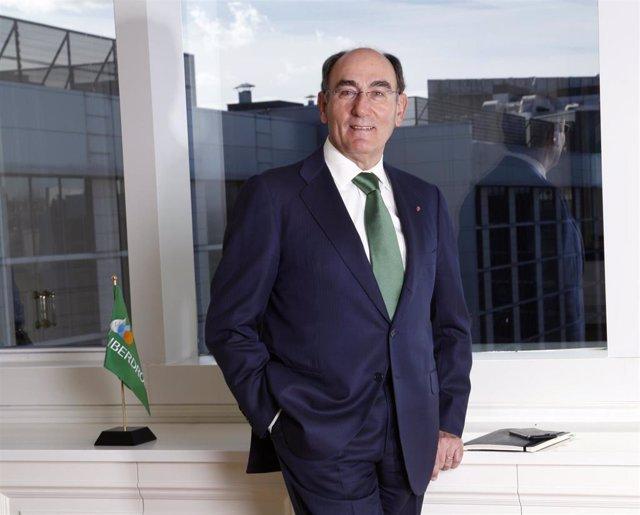 El presidente de Iberdrola, Ignacio S. Galán