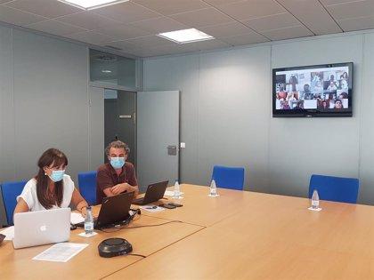 Sanidad mantiene un encuentro telemático con las comarcas aragonesas en Fase 2