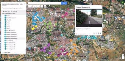 El Ayuntamiento de Pamplona realiza una auditoria de las infraestructuras ciclables en el término municipal