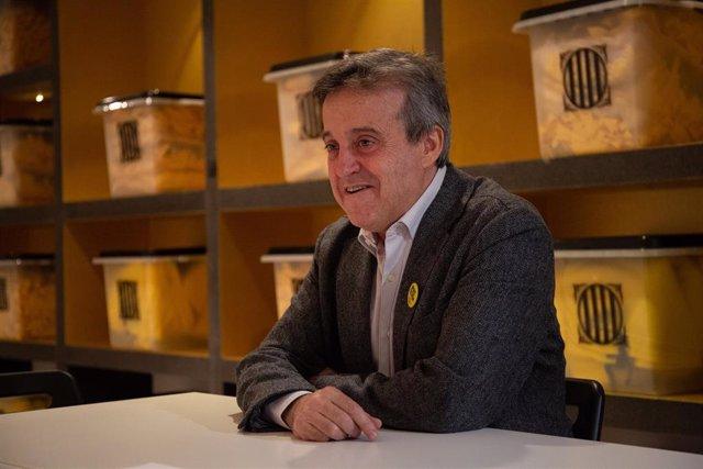 Entrevista d'Europa Press amb Toni Morral, nou secretari general de la Crida Nacional per la República i diputat de Junts per Catalunya en el Parlament.