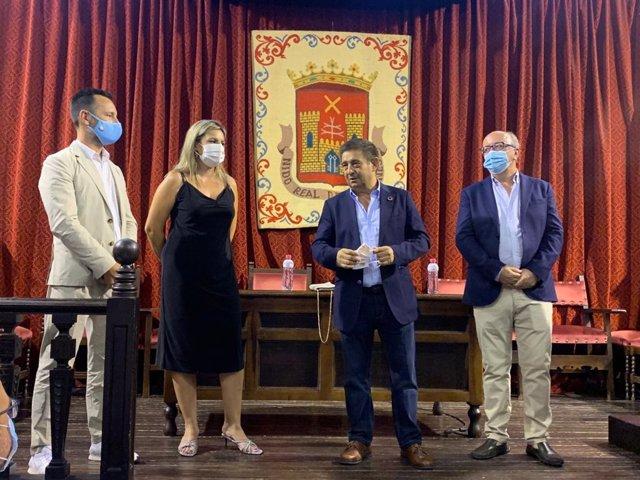 Francisco Reyes participa en el acto de recepción del Grupo de Ciudades Patrimonio de la Humanidad