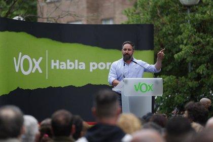 Dos detenidos por desórdenes públicos durante el mitin de cierre de campaña de Vox en Vitoria