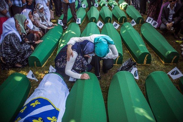 Conmemoración de la matanza de Srebrenica