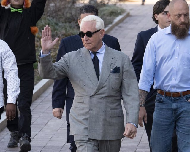 Roger Stone at Court