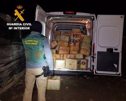 La Guardia Civil detiene a 33 personas en dos operaciones antidroga en varias Comunidades Autónomas