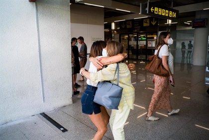 Los aeropuertos de Baleares operan 524 vuelos este sábado, el 70% internacionales