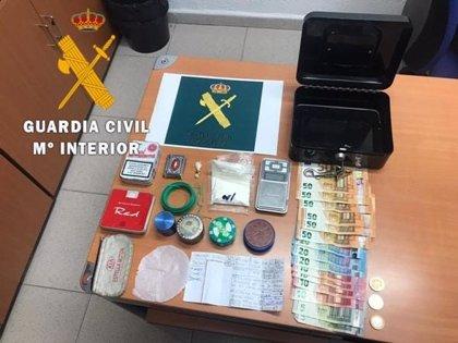 Detenido un vecino de Azagra por tráfico de drogas