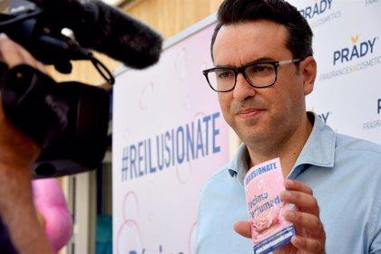 Loterías Perolo lanza el primer décimo de lotería 'perfumado'