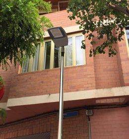 Zaragoza.- Las calles Ricla y Ciudad de Soria mejoran su iluminación con un nuev