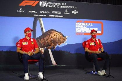 Ferrari reprende a Vettel y Leclerc por no cumplir el protocolo contra el coronavirus