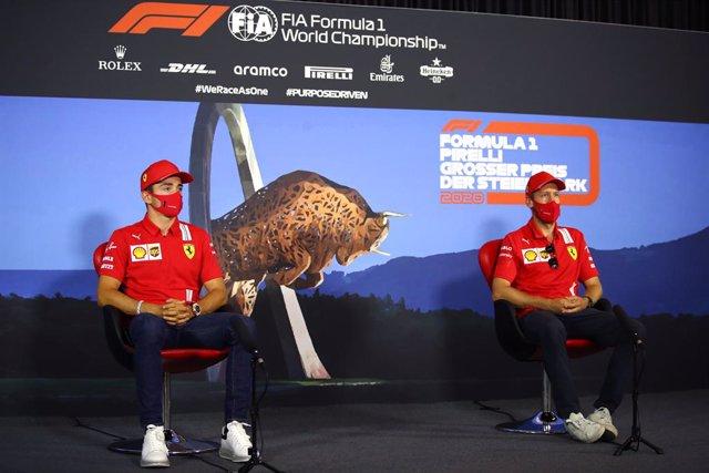 Fórmula 1/GP Estiria.- Ferrari reprende a Vettel y Leclerc por no cumplir el pro