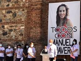 Paco Lobatón en el acto de recuerdo a Manuela Chavero