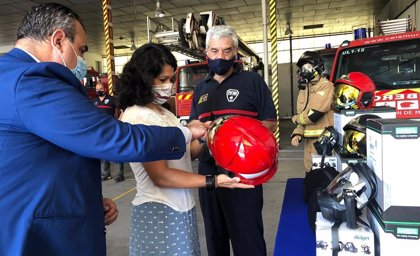 Cs trabaja por la armonización nacional y el reconocimiento de la profesión de bombero
