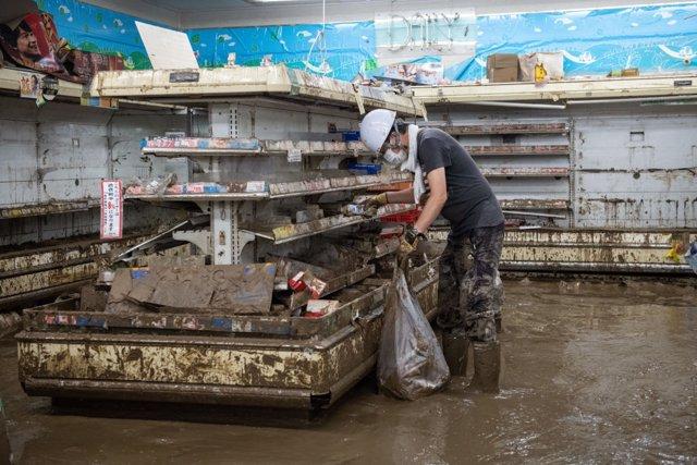 """Japón.- Japón estudia declarar las últimas lluvias torrenciales como """"desastre n"""