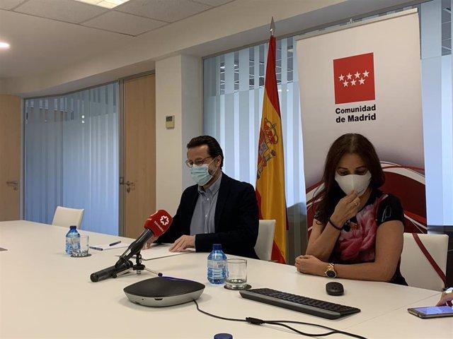 El consejero de Hacienda y Función Pública de la Comunidad de Madrid, Javier Fernández-Lasquetty, en las oficinas de la Consejería.