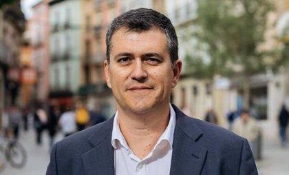 Joaquín Palacín reafirma en Berbegal el compromiso de CHA con los pequeños municipios de Aragón