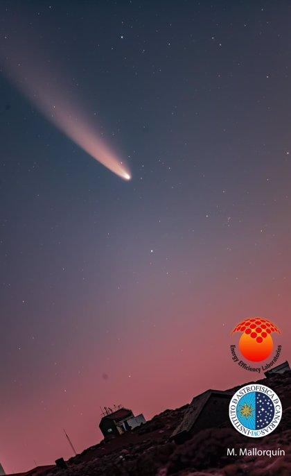 El cometa Neowise se podrá ver desde Canarias y la Península