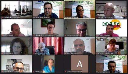 La Junta impulsa plan de choque para expedientes de concesiones de regadíos y colaboración con Mesa del Agua de Almería