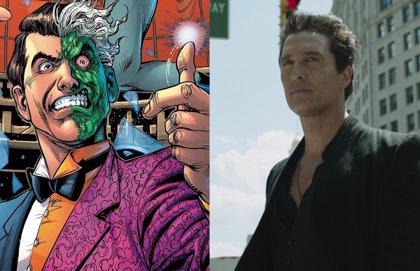 Matthew McConaughey es Dos Caras en The Batman de Robert Pattinson en este fan-art