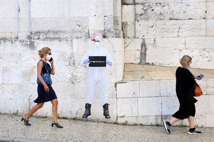 Portugal baja en contagios respecto al viernes pero mantiene la alerta en Lisboa y Valle del Tajo