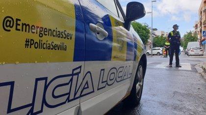 La Policía Local de Sevilla detiene a un joven por un presunto delito de robo con violencia a dos jóvenes