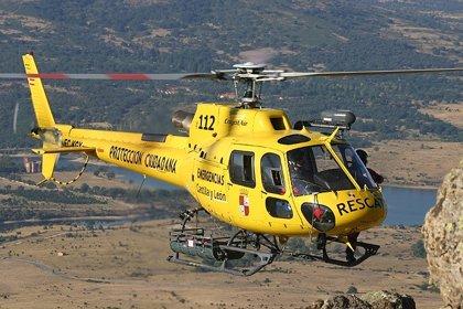 Rescatadas ilesas dos personas enriscadas en una zona de escalada a las afueras de Vegacervera (León)