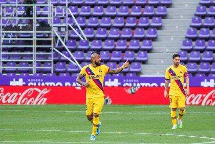 """Arturo Vidal: """"Tenemos que mejorar si queremos seguir peleando la liga y después la Champions"""""""