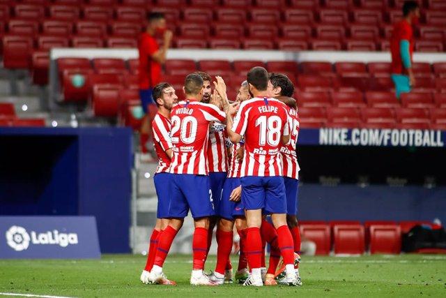 Fútbol/Primera.- Crónica del Atlético de Madrid - Real Betis, 1-0
