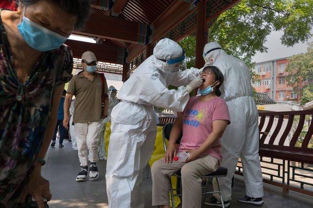 Coronavirus.- China registra siete nuevos casos de coronavirus importados del ex