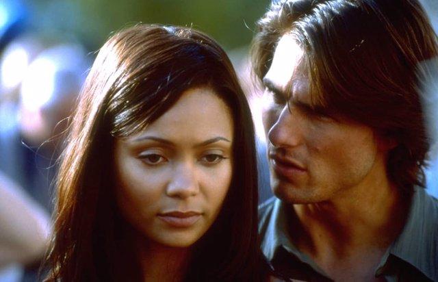 """Así aterrorizó Tom Cruise a Thandie Newton en el rodaje de Misión Imposible 2: """"Tuve pesadillas"""""""