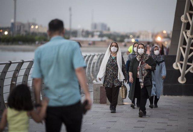 Coronavirus.- Irán baja en contagios diarios pero registra casi 200 fallecidos m