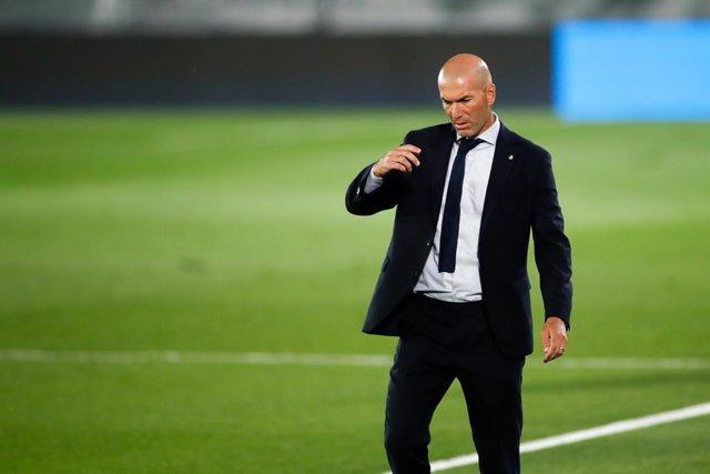 """Fútbol.- Zidane: """"Solo pensamos en el partido del Granada, no hacemos cuentas"""""""