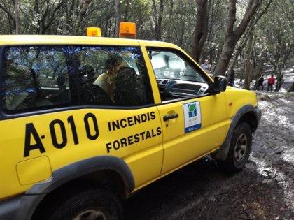 Extinguido el incendio forestal en s' Heretat des Duc (Menorca)