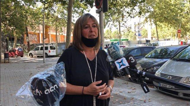 La alcaldesa de L'Hospitalet de Llobregat (Barcelona), Núria Marín