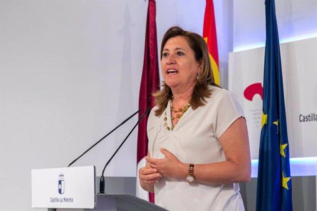 La consejera de Educación, Cultura y Deportes, Rosa Ana Rodríguez.