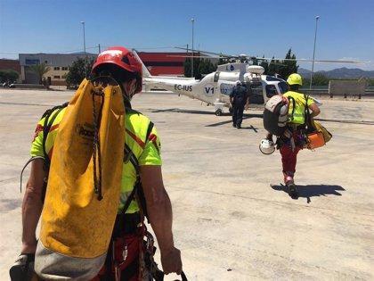 Emergencias de la Generalitat coordina 74 rescates con helicóptero durante el primer semestre de 2020