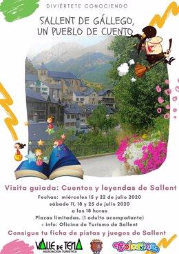 """La actividad """"Sallent, un pueblo de cuento"""""""