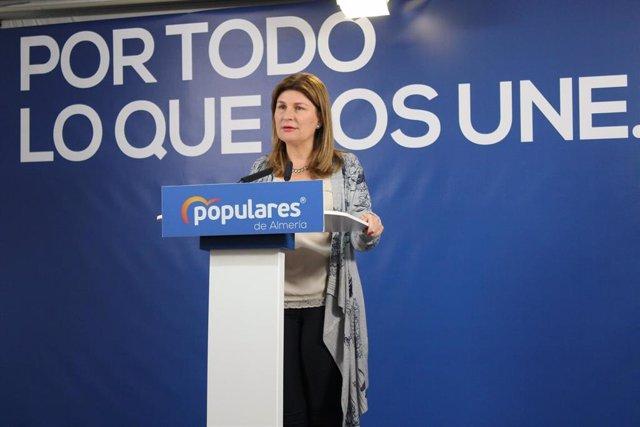La parlamentaria andaluza del Partido Popular (PP) de Almería Rosalía Espinosa