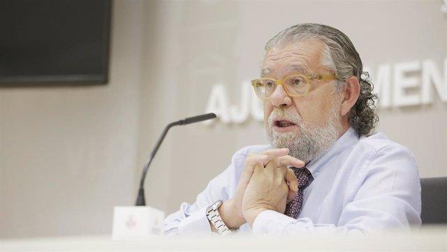 El concejal de Hacienda, Ramón Vilar
