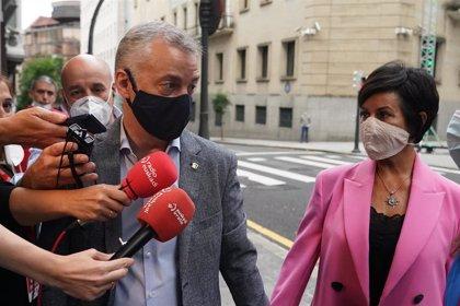 """Urkullu destaca que se han dado """"las condiciones de seguridad"""" para votar en Euskadi"""