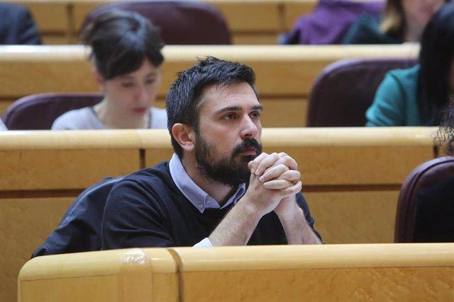 El exdirigente y exsenador de Podemos Ramón Espinar