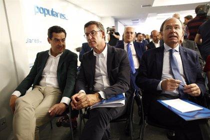 """Moreno felicita a Feijóo por su nueva mayoría absoluta: """"Su experiencia, equilibrio y moderación son el mejor aliado"""""""
