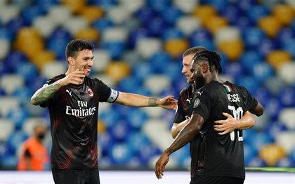Un buen Nápoles permite un empate al Milan
