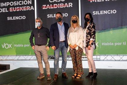 12J.- Vox entra en el Parlamento vasco con un escaño por Álava, pero no obtiene representación en Galicia