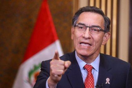 """Vizcarra apela a la """"responsabilidad"""" de la población para evitar rebrotes de casos de coronavirus en Perú"""
