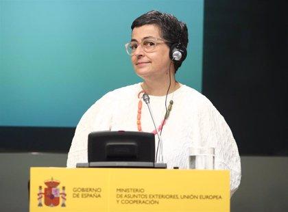 González Laya defiende en Bélgica que España es un destino seguro para los turistas