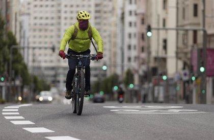 Madrid comenzará a ejecutar esta semana el primero de sus seis nuevos carriles bici provisionales