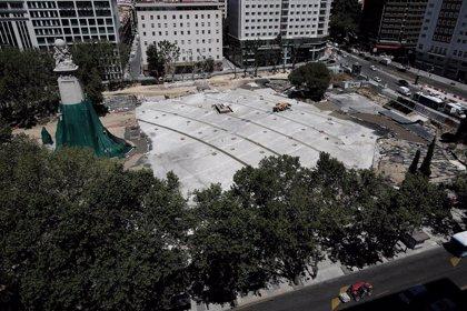 La reforma de Plaza España no incluirá el gran paso de cebra en aspa